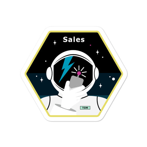 Major Tom Crew Patch Sticker - Sales