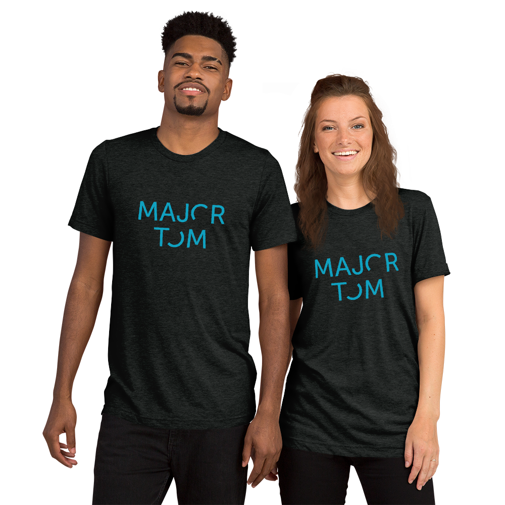 Major Tom Unisex T-Shirt - Blue