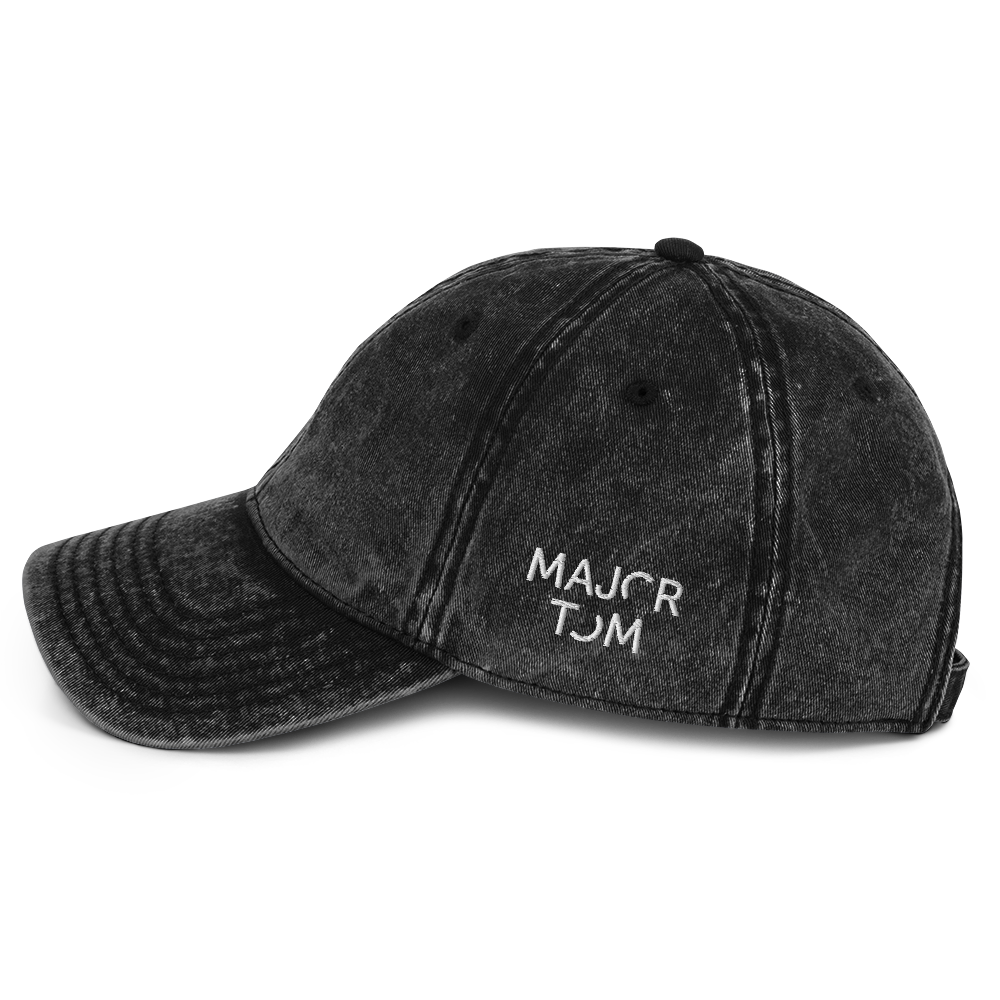 Major Tom embroidered cap
