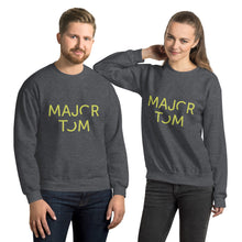 Load image into Gallery viewer, Major Tom unisex sweatshirt - yellow