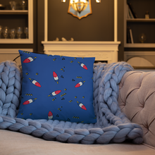 Load image into Gallery viewer, Rocket Popsicle Throw Pillow