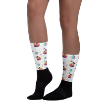Load image into Gallery viewer, Sci-fi summer socks - white