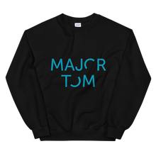 Load image into Gallery viewer, Major Tom unisex sweatshirt - blue