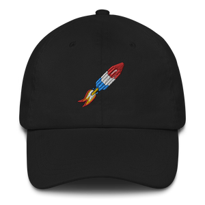 Rocket popsicle baseball cap