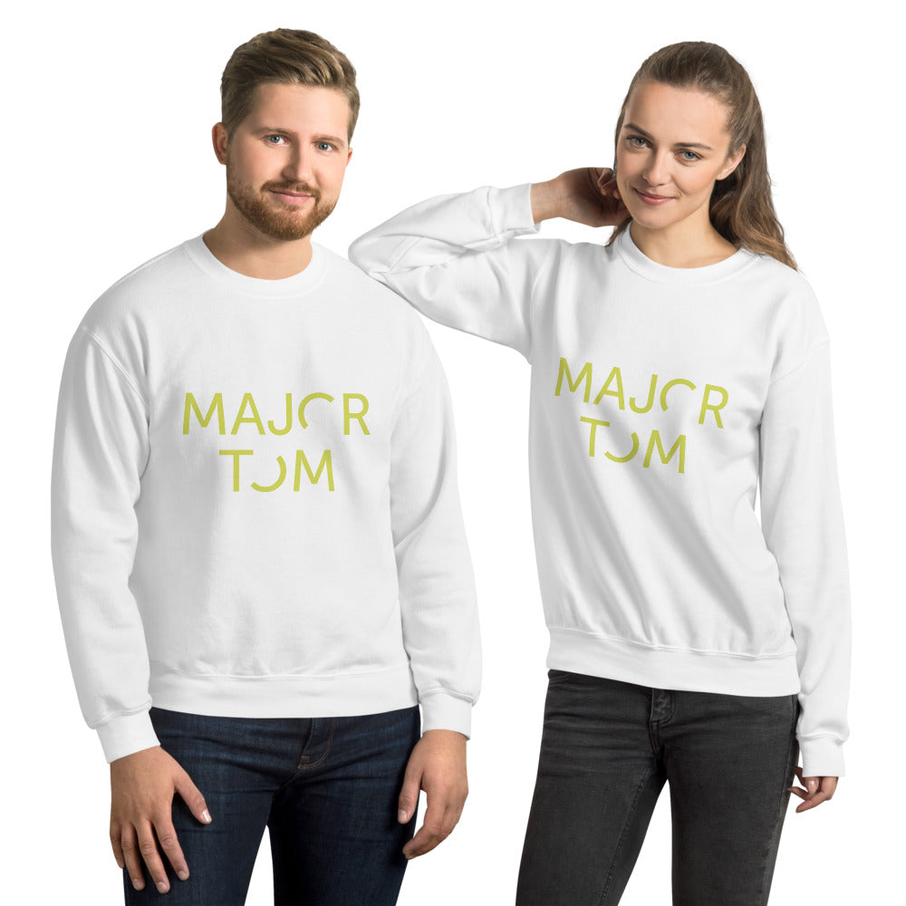 Major Tom unisex sweatshirt - yellow