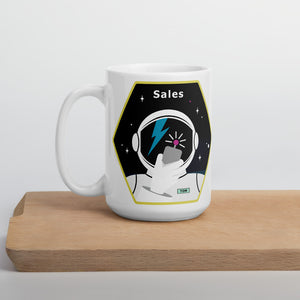 Major Tom Crew Patch Coffee Mug - Sales