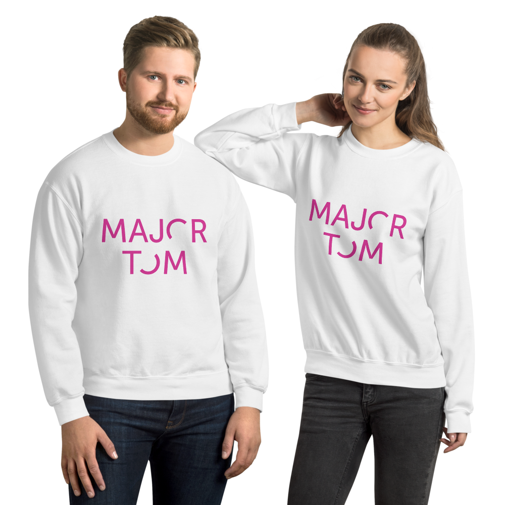 Major Tom unisex sweatshirt - pink