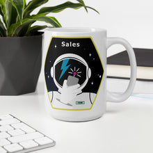 Load image into Gallery viewer, Major Tom Crew Patch Coffee Mug - Sales