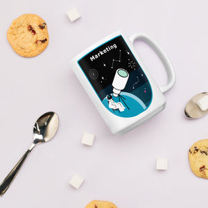 Major Tom Crew Patch Coffee Mug - Marketing