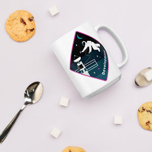 Major Tom Crew Patch Coffee Mug - Development