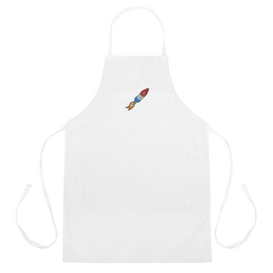 Rocket popsicle apron