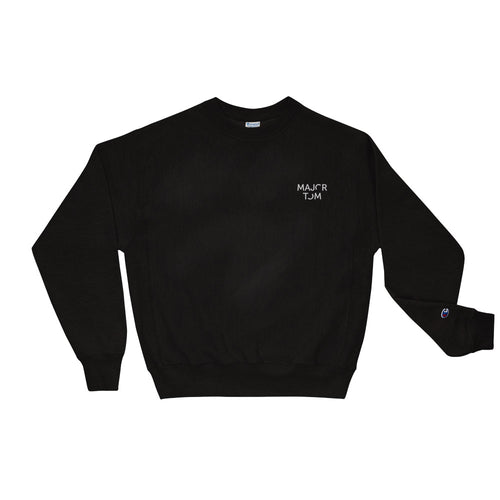 Major Tom - Boyfriend fit Champion crewneck sweatshirt