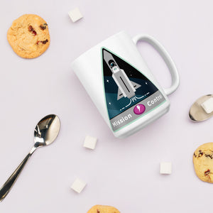Major Tom Crew Patch Coffee Mug - Mission Control