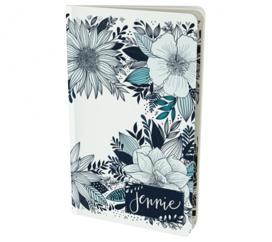 Custom Listing for Floral Love Notebook with name (small)