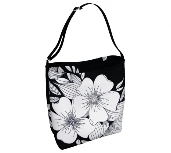 Floral Spray Day Tote