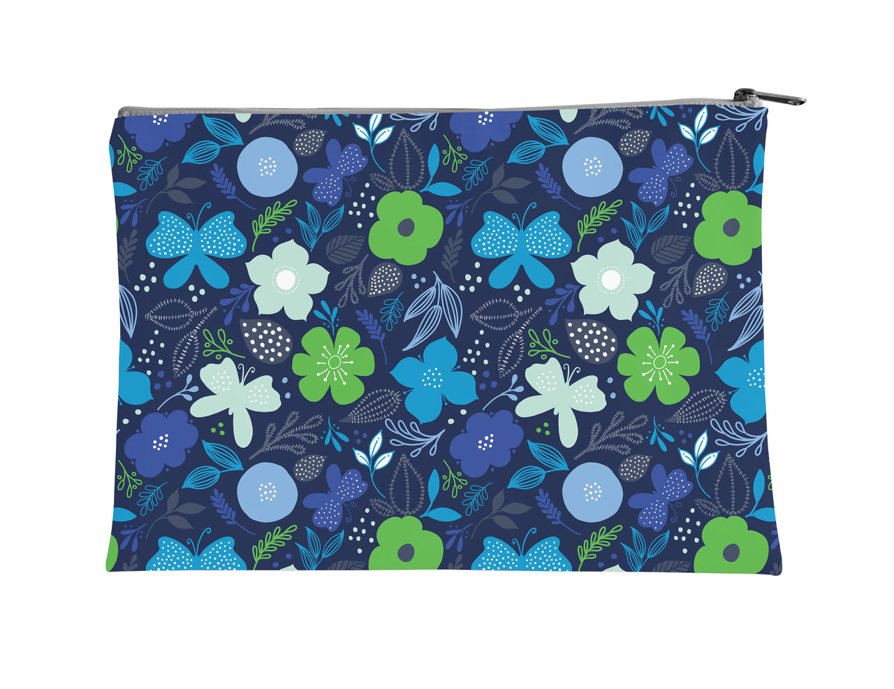 Butterfly + Bloom Accessory Pouch - kathryncole