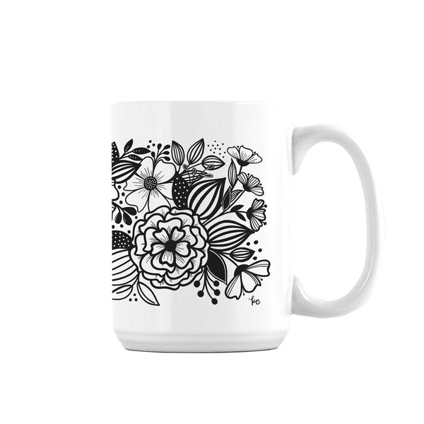 In the Garden Ceramic Mug - kathryncole