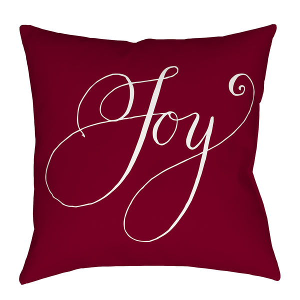 Joy Pillow in Red