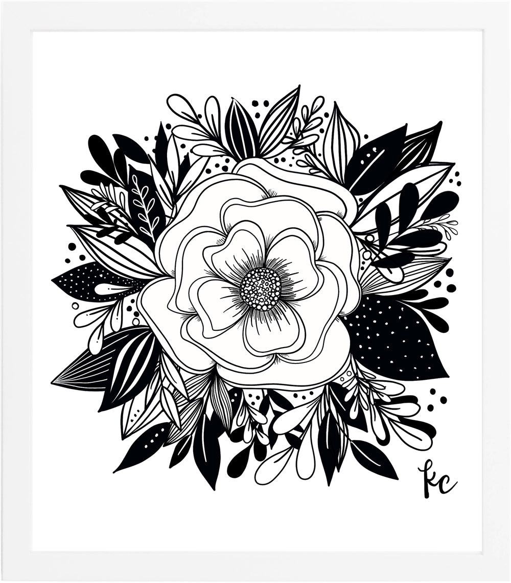 BLOOM Art Print - kathryncole