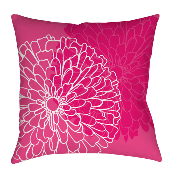 Zinnia Flower Pillow - kathryncole