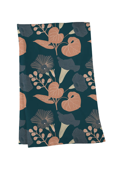 Morning Glory Tea Towel