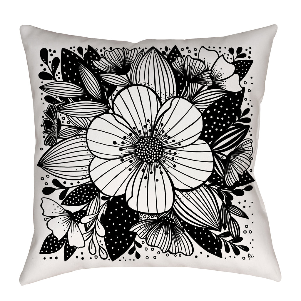 My Summer Garden Pillow