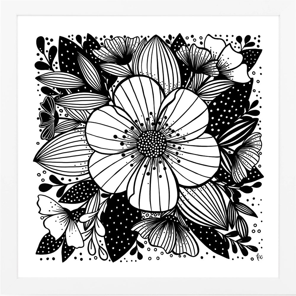 My Summer Garden Art Print