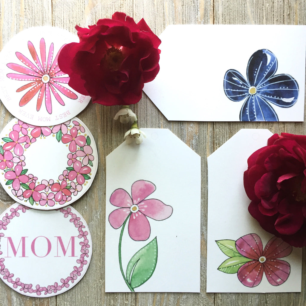 Mother's Day Gift Tags (Printable) - kathryncole