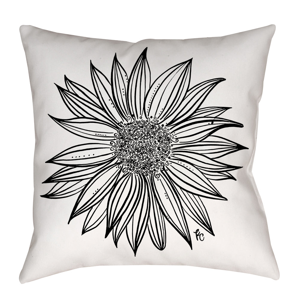 Sunflower Pillow - kathryncole