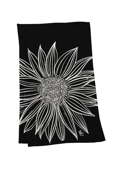 Sunflower Tea Towel - kathryncole