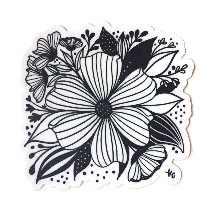 Anemone Sticker - kathryncole