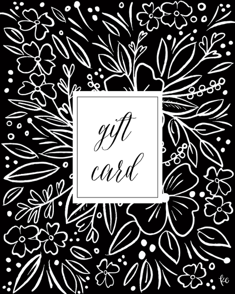Gift Card - kathryncole