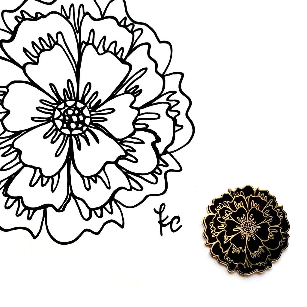 Bloom Flower Pin - kathryncole