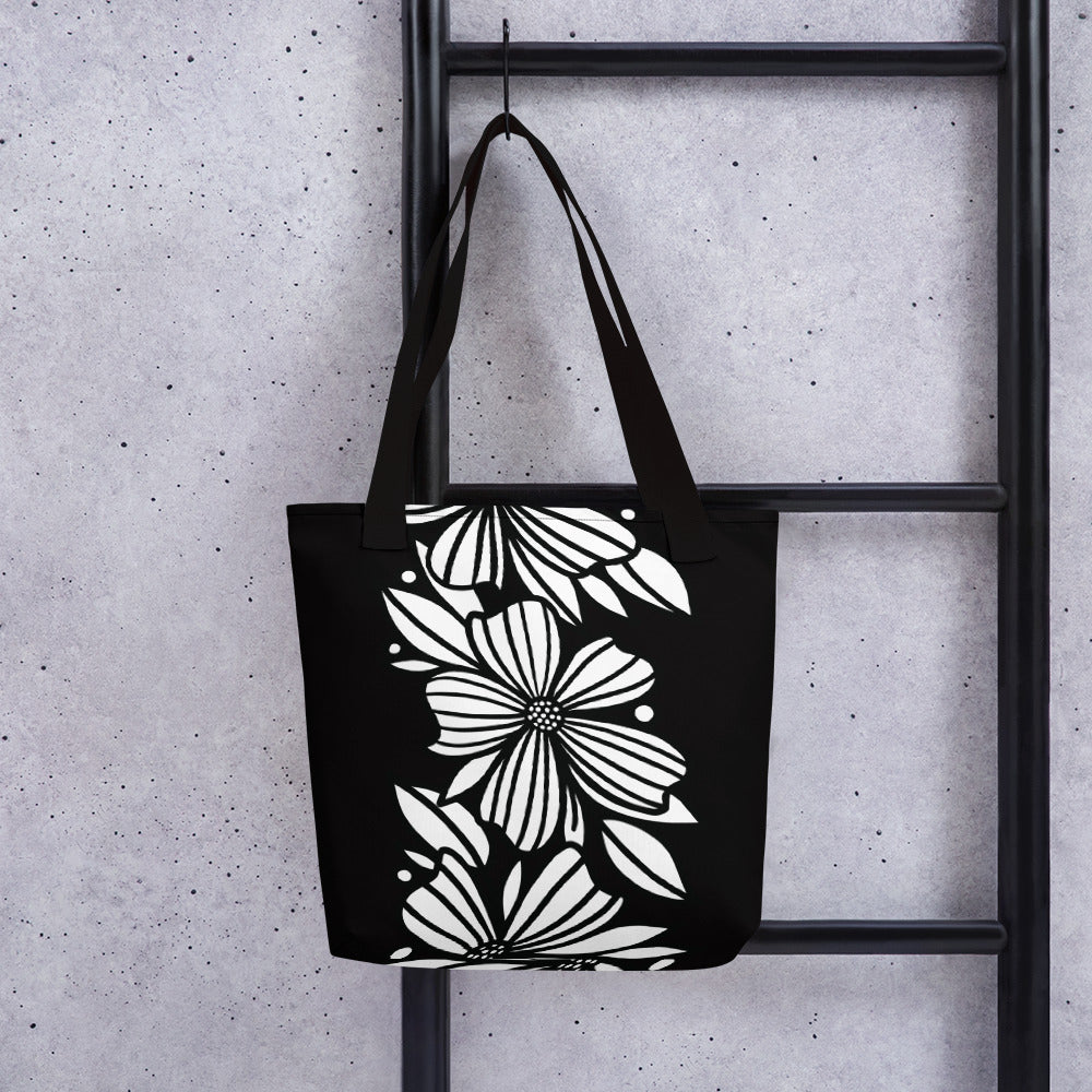 Three Florals Tote bag - kathryncole