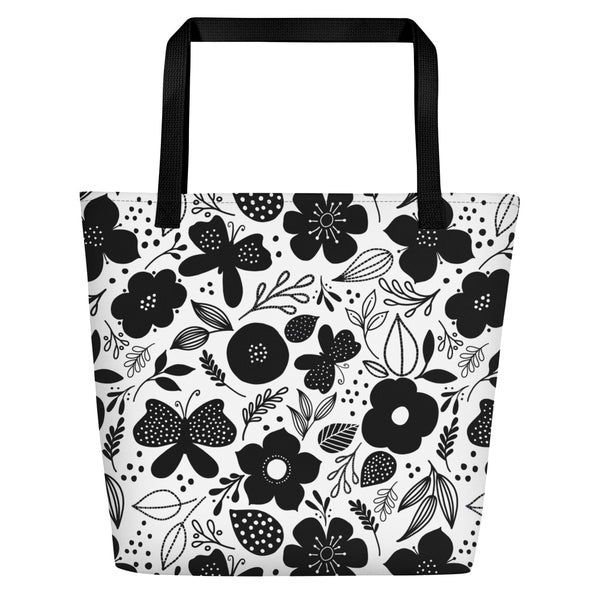 Butterfly+Bloom Beach Bag - kathryncole