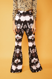 Abstract Print Pants - Shantall Lacayo