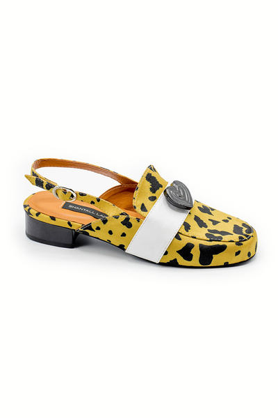 Animal Print Loafers