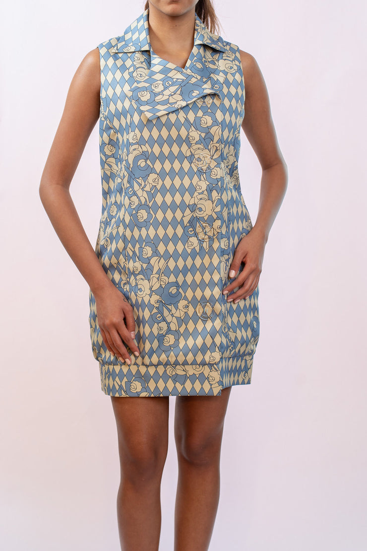 Giacomo Vest Dress - Shantall Lacayo