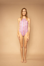Heart Lines Bathing Suit - Shantall Lacayo