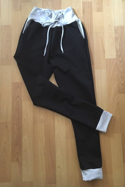 SWEATPANTS BLACK GREY