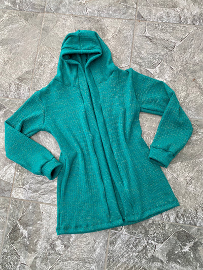 CARDIGAN LANILLA GREEN SHINE