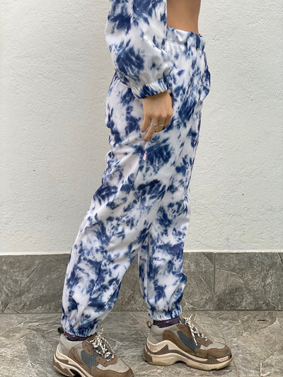 SWEATPANTS TIE DYE SMOKY