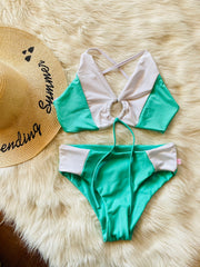 TOP VERSACE MINT + BOTTOMS VERSACE MINT A ELECCION