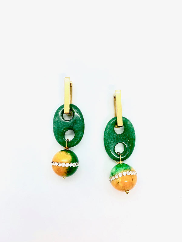 Cosmic Girl earrings - Maeva Gaultier