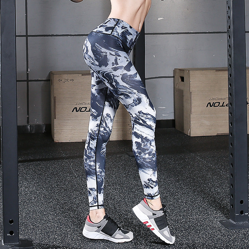66bc63eb7d265c Load image into Gallery viewer, CAMOUFLAGE YOGA PANTS ...