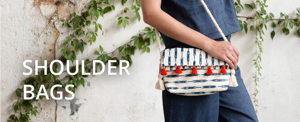 Ethical Handwoven Shoulder Bags