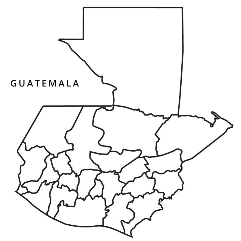 The Map Guatemala