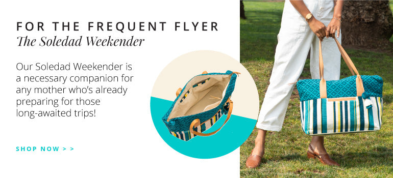 For The Frequent Flier: The Soledad Weekender