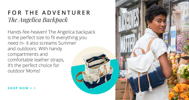 For The Adventurer: The Angelica Backpack