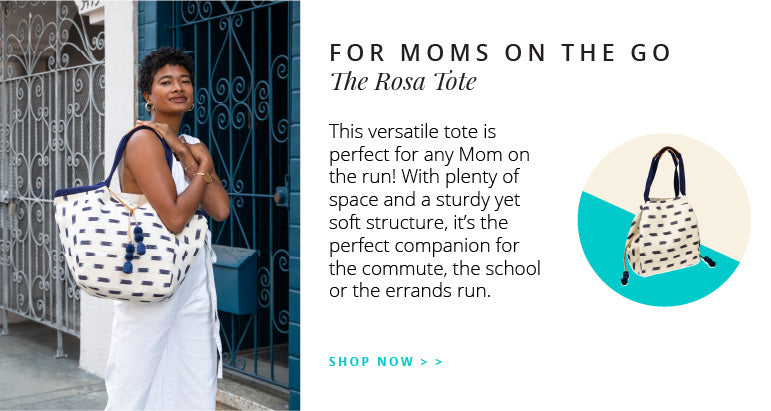 For Moms on the go: The Rosa Tote